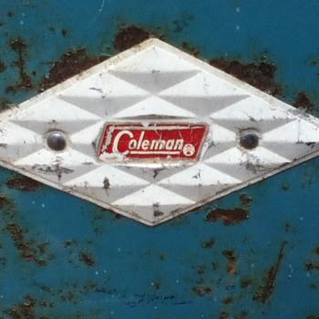 Vintage Coleman Diamond Cooler