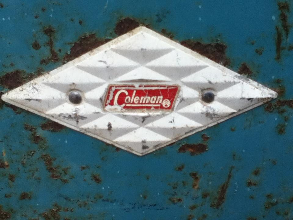 Vintage Coleman Diamond Cooler | Collectors Weekly