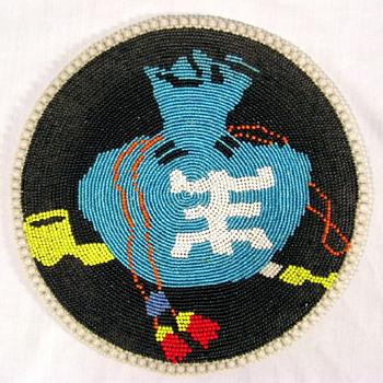 Made in Japan Native American Bead Work - Asian