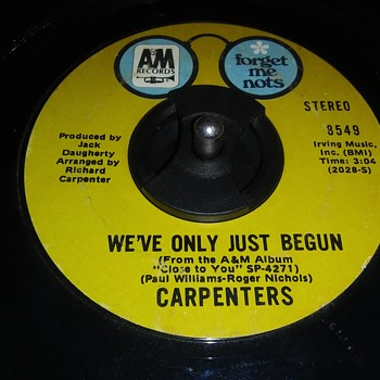 45 RPM SINGLE....#29 - Records