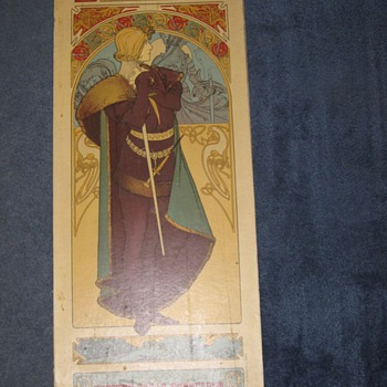 Alphonse Mucha Poster Sarah Bernhardt Original Lithograph? Art Nouveau - Posters and Prints
