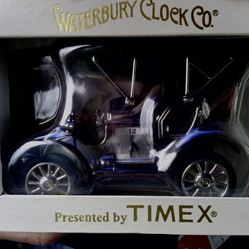 antique waterbury co.  car/truck - Clocks