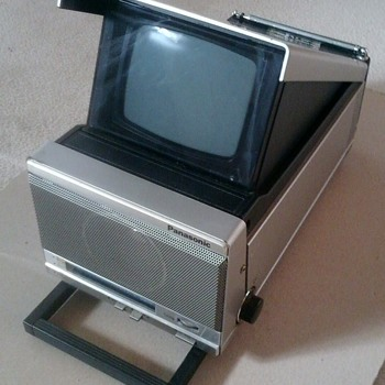 Panasonic B&W TV & Radio