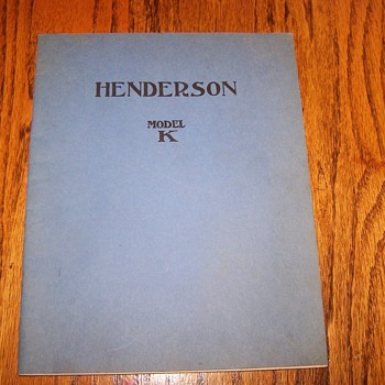 Henderson Motorcycle book - Motorcycles