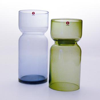 LANTERN candleholder & vase, Harri Koskinen (Iittala, 1999) - Art Glass