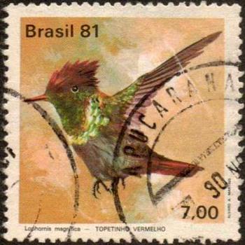 "Brazil - ""Hummingbird"" Postage Stamp - Stamps"