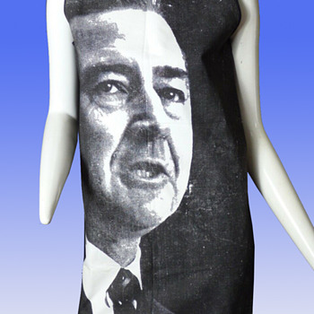 "1968 Eugene McCarthy ""The Message"" Paper Dress by Funday Fashions. - Politics"
