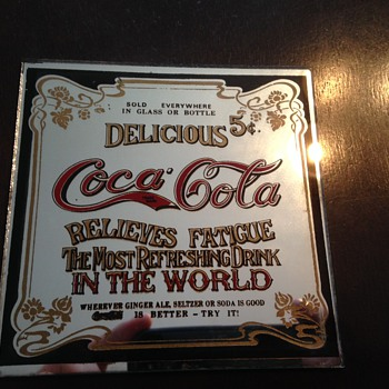 Coca-Cola Mirror - Coca-Cola