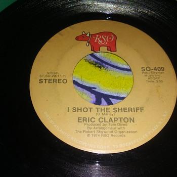 Mr. Eric Clapton...On 45 RPM Vinyl - Records