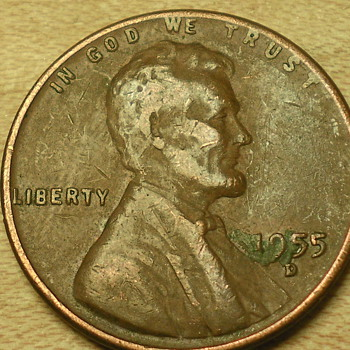 1955 wheat penny lol Just sayin