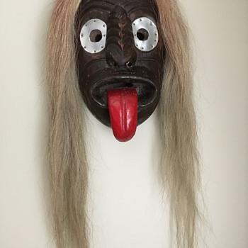 My Iroquois False Face Mask - Fine Art
