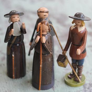 1930's Wendt & Kuhn Nativity Pieces