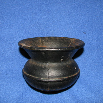 Vintage Cast Iron Mini Spittoon