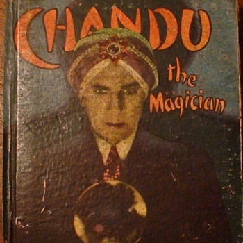 Chandu The Magician Bela Lugosi 1935 hardcover edition of the Little Big Book  - Books