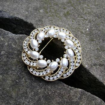 Trifari Cavalcade Brooch - Costume Jewelry