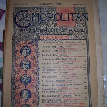 Vol. VI No. 3 of The Cosmopolitan - January, 1889 - Advertising