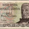 Argentina - (10) Pesos Bank Note