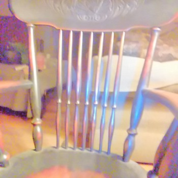 Rocking chair that goes back 4 generations