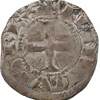 Henry II - Silver Denier of Aquitaine - World Coins