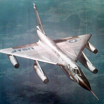 "U.S. Air Force Photo Poster - ""B-58 Hustler"""
