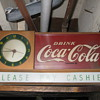 coke mantel style clock