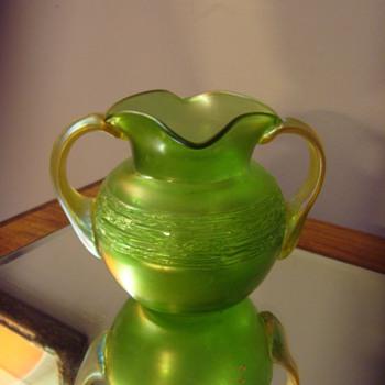 Art Nouveau Loetz Ausfuehrung 44 - 1907 Vase Bowl - Art Nouveau