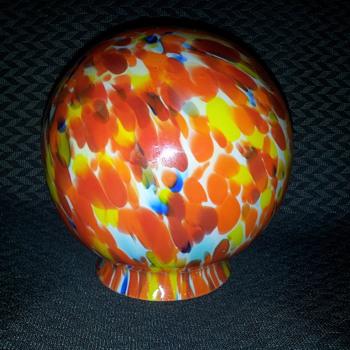 Great Czech lamp shade.. - Art Glass