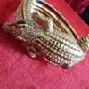 Master Crystal Croc Bracelet by Designer Butler & Wilson [initial piece]