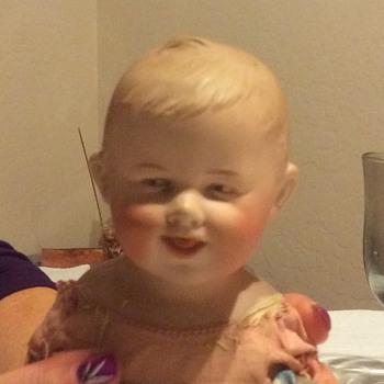 Gebruder Bach baby boy doll - Dolls