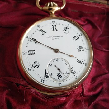 Patek Phillipe 18k Pocket Watch