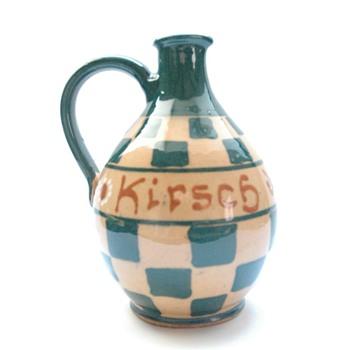small pitcher -leon elchinger - Art Deco