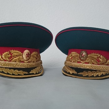 Soviet Marshal of the Soviet Union Visor Peaked Cap Hat  - Military and Wartime