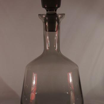 Bohemian Decanter - Art Glass