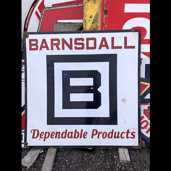 Barnsdall Gas - Signs