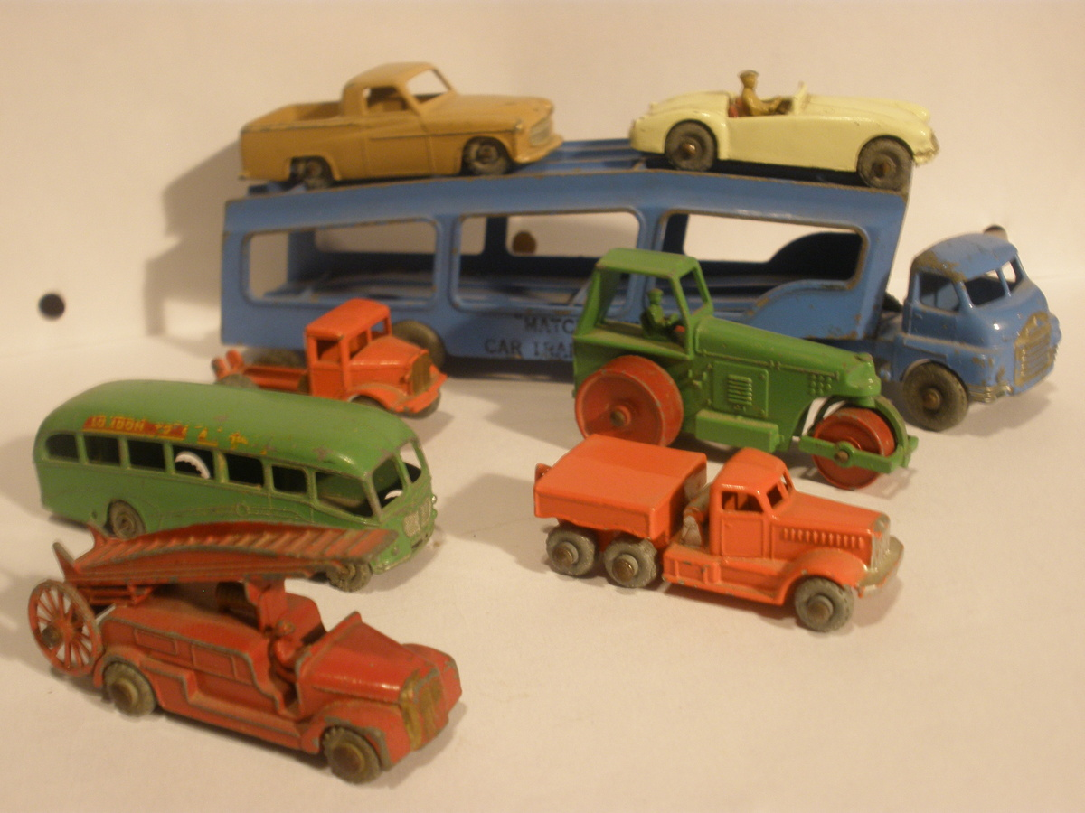 Collecting Old Matchbox Cars