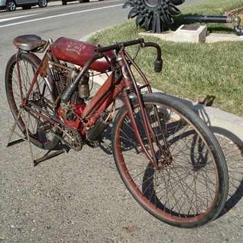 1908 Indian Board Track Racer-Original - Motorcycles
