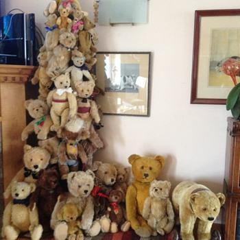 My Chris-bear tree! - Dolls