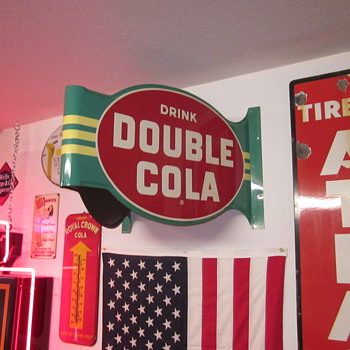 1957 Double Cola Sign - Advertising
