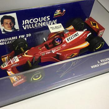 Minichamps Williams FW20 1998 Jacques Villeneuve 1/43 - Model Cars