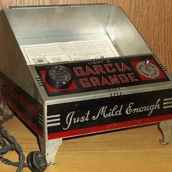 Garcia Grande Electric Lighter Unit - Tobacciana