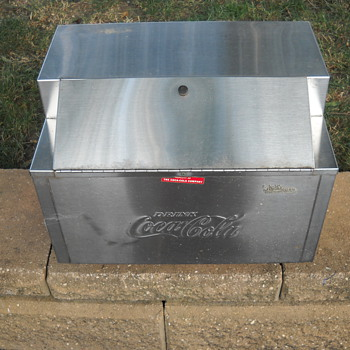 Vintage Selmix Coca Cola Embossed Dispenser Machine  - Coca-Cola