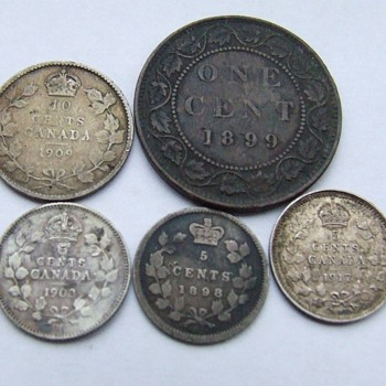 A Few More Metal Detector Finds - World Coins