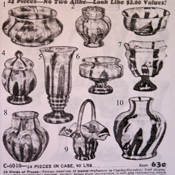 Bambus Challange.... butler brothers Catalog...can you complete? - Art Glass