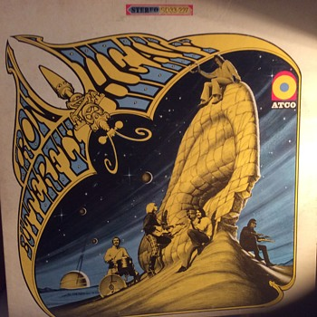 An iron butterfly and a Led Zeppelin are both heavy - Records