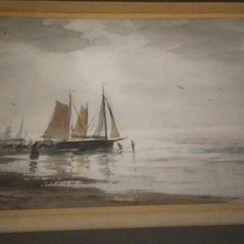Four Watercolors signed A T Millar 1860-1913 - Fine Art