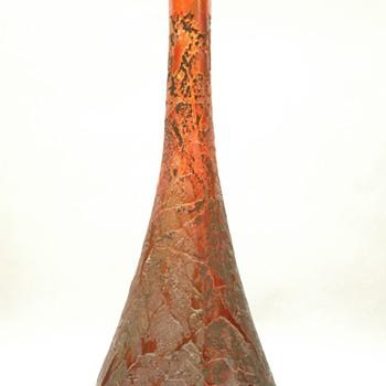 jules augustre HABERT-Dys  bud vase  circa 1911 - Art Glass