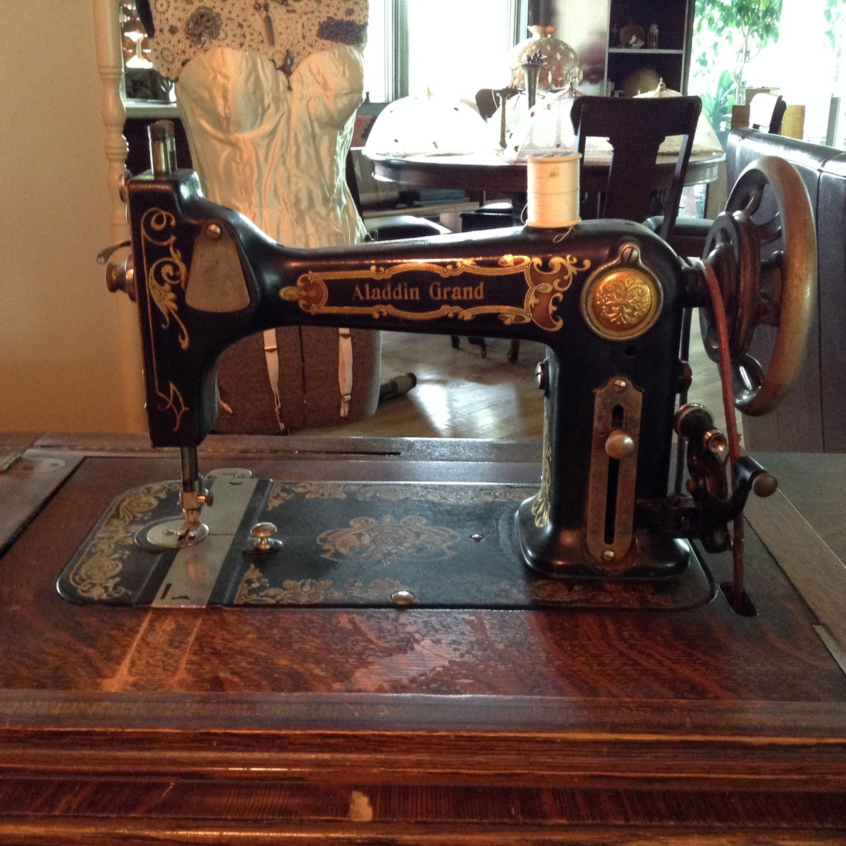 Greist Treadle Sewing Machine Recent Yard Sale Find