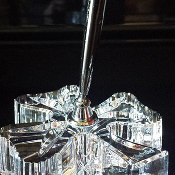 Waterford Crystal Shamrock Pen Holder - Glassware