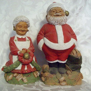 Mr and Mrs Claus - Christmas