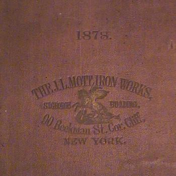 """MOTT IRON WORKS"" - Books"